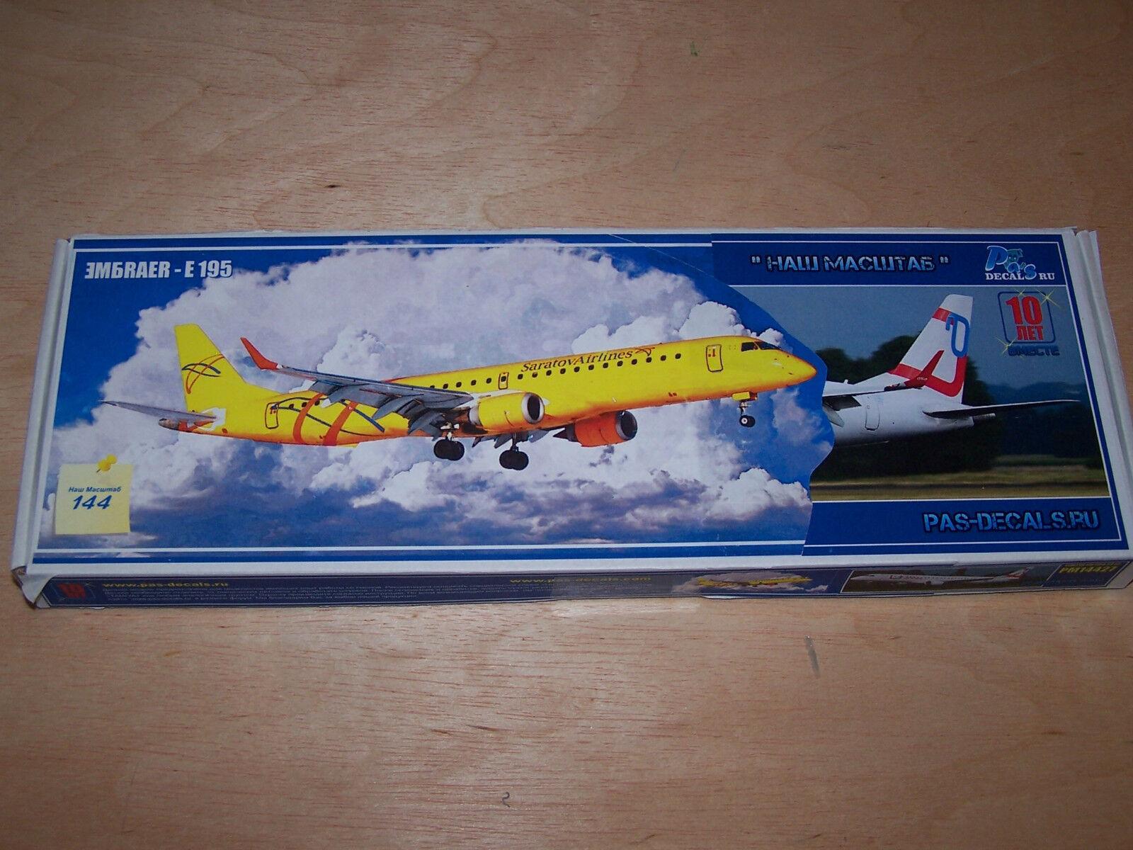 1 144 Pas Model Embraer E 195