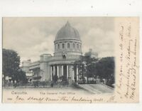 Calcutta General Post Office India Vintage U/B Postcard 362b