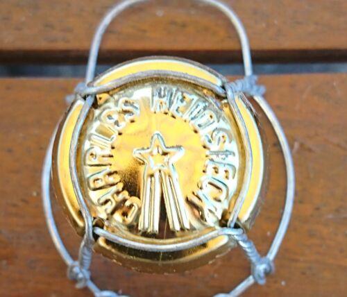 capsule champagne HEIDSIECK CHARLES estampée n°16 or