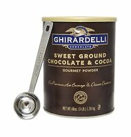 Ghirardelli - Sweet Ground Chocolate & Cocoa Gourmet Powder 3 L... Free Shipping