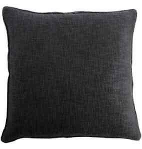 TINE K HOME ♥  XL Kissen-Hülle 60 x 60 cm  schwarz  Made in India SALE NEU