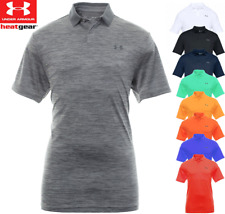 UNDER ARMOUR MENS HeatGear® PERFORMANCE STRETCH 2.0 GOLF POLO SHIRT / NEW 2020
