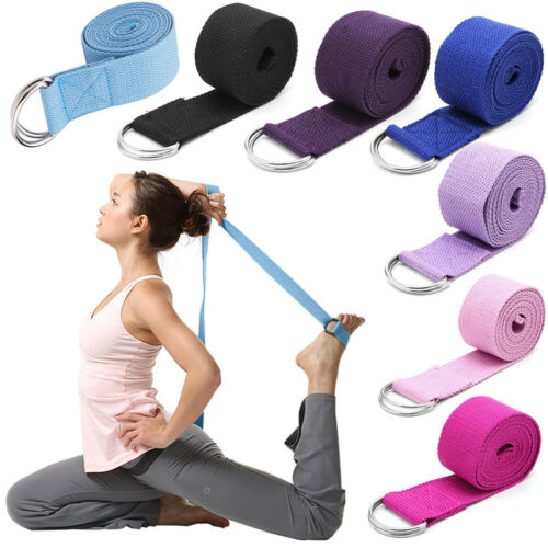 Exercise Fitness Resistance Band Pilates Workout Gym Yoga Stretch Pull Rope Belt