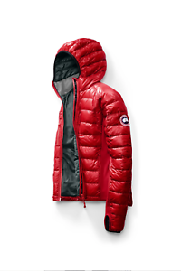 Brand-New-with-Tags-Canada-Goose-Men-039-s-Hybridge-Lite-Down-Hoody-Red-Size-Medium