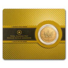 2009 1 oz Gold Canadian Maple Leaf Coin .99999 Fine - SKU #57461