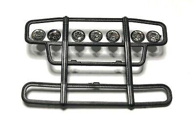 1//50 Zubehör•0653 Rammschutz in schwarz mit 7 Lampen• für Zugmaschinen