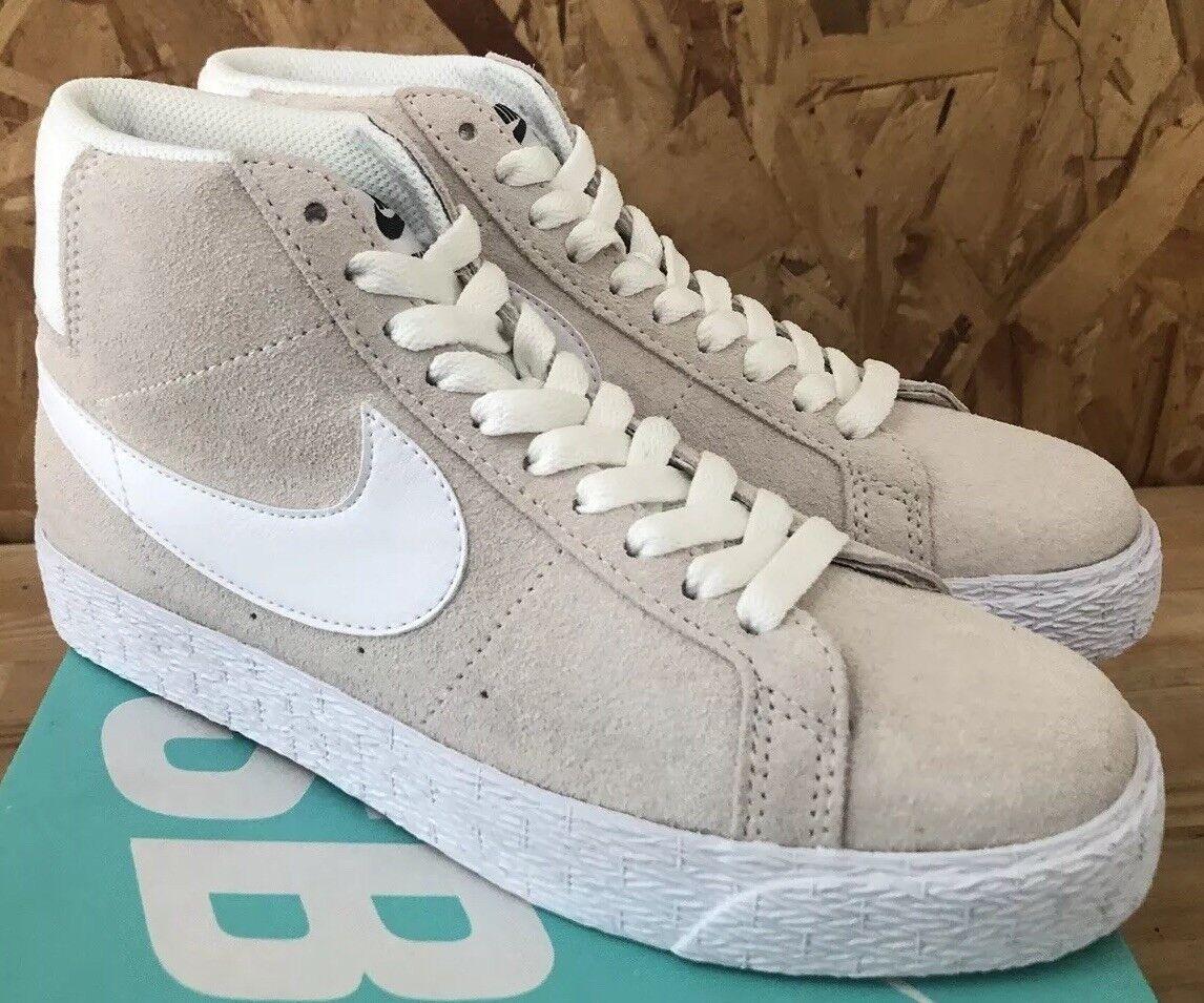 Nike SB Blazer Premium SE Summit White Sz 5.5 NIB 631042-100