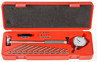 "2"" - 6"" Cylinder Dial Bore Indicator Gauge Kit  .0005"" New"