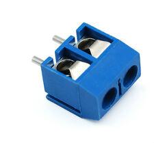 10 x KF301-2P KF301-5. 2broches 5.0 mm PCB vis du bloc connecteur Terminal