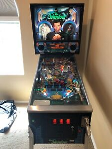 Bally The Shadow Pinball Machine 1994 Excellent Condition LED Upgrade MUST SEE!!
