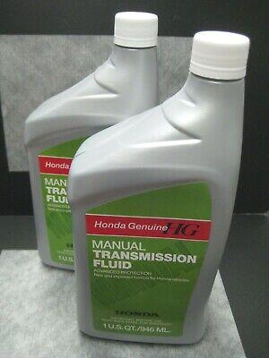 Honda Genuine Mtf Manual Transmission Fluid Oem Pack Of 2 Ships Fast Ebay