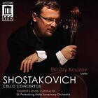 Shostakovich: Cello Concertos (CD, Jun-2013, Delos)