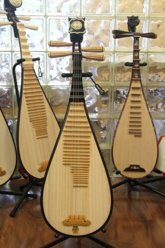 Pipa - Kid's Size Pipa, Chinese Lute Guitar Dunhuang Musical Instrument