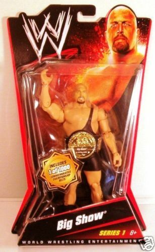WWE Collection_BIG Collection_BIG Collection_BIG SHOW Chase figure with Belt_Limited Edition of 1000_MIP 5a4e3f