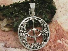 Chalice Well Avalon 925 Silber Anhänger Gothic Schmuck Kelten