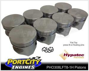 Hypatec-Flat-Top-Piston-set-Holden-V8-304-VN-VP-VR-VS-VT-5-0L-PHO308LFT80301H