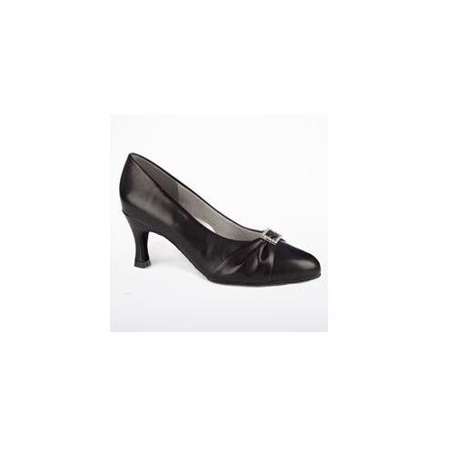 Black Freed Jasper ballroom/latin dance shoes - size UK 7E