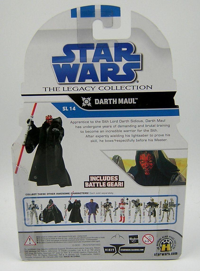 Star Wars Legacy Collection SL14 SL14 SL14 Darth Maul bc8398
