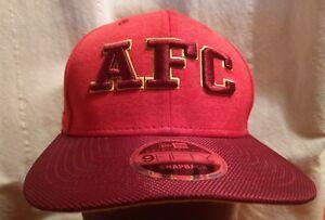 b84acbf2 NWT NFL AFC NEW ERA 9FIFTY SNAPBACK ORIGINAL FIT PRO BOWL RED GREEN ...