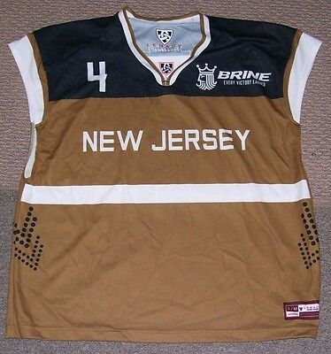 Activewear Tops Brine All American Lacrosse National Classic Shirt New Jersey Men's Size-s/m Activewear