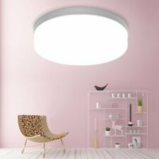 Round Led Light Ceiling Down Panel Wall Bathroom Kitchen Office Surface Mount
