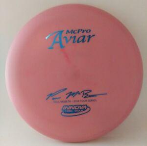 Rare-Swirly-2014-Three-Peat-McPro-Innova-Disc-Golf-Max-Weight