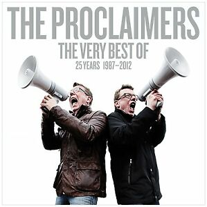 THE-PROCLAIMERS-THE-VERY-BEST-OF-25-YEARS-1987-2012-2CD-SET-Greatest-Hits