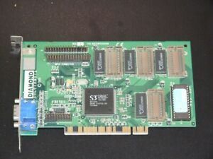 Diamond Stealth 3D 2000 PCI VGA video card vintage 1997