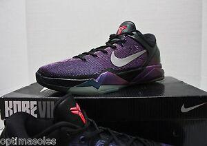new concept f84f0 11bd9 Image is loading Nike-Zoom-Kobe-VII-7-Sz-13-Black-