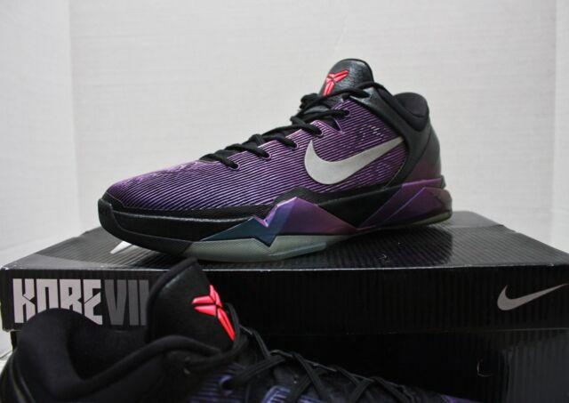 c35ac3d343b1 Nike Zoom Kobe VII 7 Sz 13 - Black Purple Blue - Invisibility Cloak - 488371