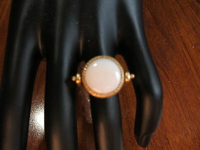 New Chicos Glass Cocktail Ring Gift Fashion Women Party Jewelry 3Sizes Chosen