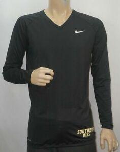Southern-Miss-Dorado-Eagles-Nike-pro-Combat-Dri-Ajuste-XXL-Compresion-Camisa