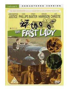 The-Fast-Lady-DVD-NEW-SEALED-James-Robertson-Justic-Leslie-Philips