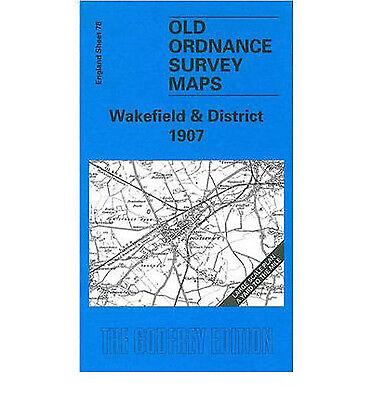 OLD ORDNANCE SURVEY MAP YORK SOUTH 1907 MICKLEGATE HOLGATE ROAD NEW LANE