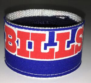 Buffalo Bills Wristband Cuff Pro Football Fan Game Gear Team Apparel