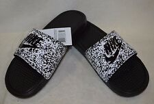 f683ec21e372 item 1 Nike Benassi JDI Print White Black Men s Slide Sandals-Sz 8 9 10 11 12 13 14  NWB -Nike Benassi JDI Print White Black Men s Slide Sandals-Sz ...