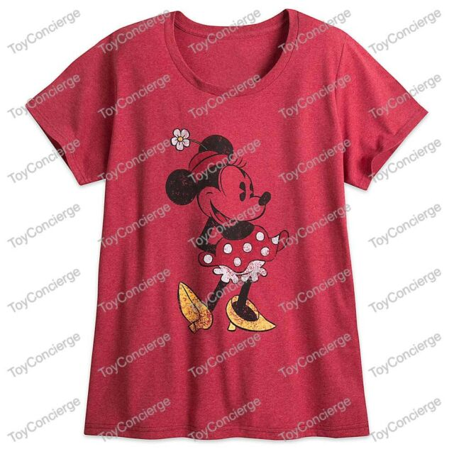 GIRLS SIZE 7//8 MINNIE MOUSE AMERICANA T-SHIRT FOR GIRLS DISNEY STORE NWT