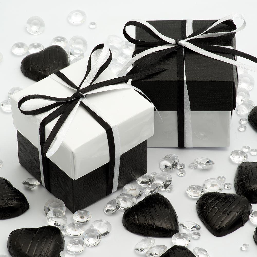 Luxury diy deux tons tons tons boîte & Couvercle Mariage Noël baby shower party boîtes faveur | Convivial  7853e8