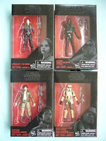 Star Wars Black 3.75 Rogue One Walmart Exclusive Wave 6 Set Of 4 In Stock