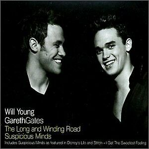 The Long And Winding Road / Suspicious Minds, Young, Will & Gates, Gareth, Used;