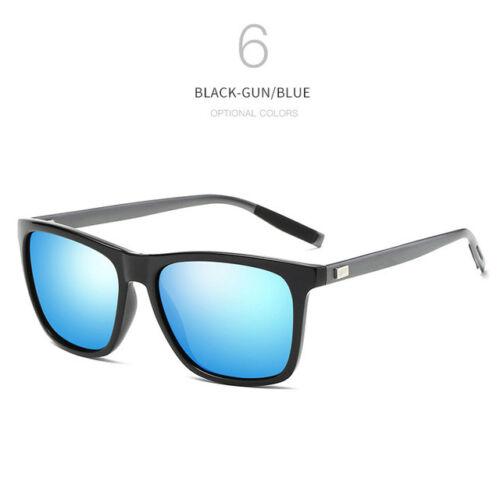 Mens Sunglasses Polarized Aluminium Magnesium Men Womens UV400 Driving Vintage