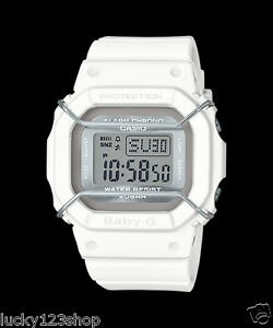 ff1a8e714 BGD-501UM-7D White Baby-G Casio Lady Watches Resin Band Digital ...