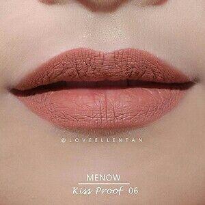 No 6 MeNow KISSPROOF Powdery Matte Soft Lipstick Lip Crayon waterproof Lip Stain