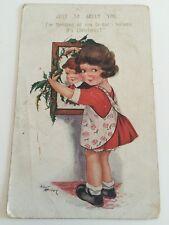 Vintage Early Postcard - Woolstone Bros, Milton Comic Series No 0102, Bubby