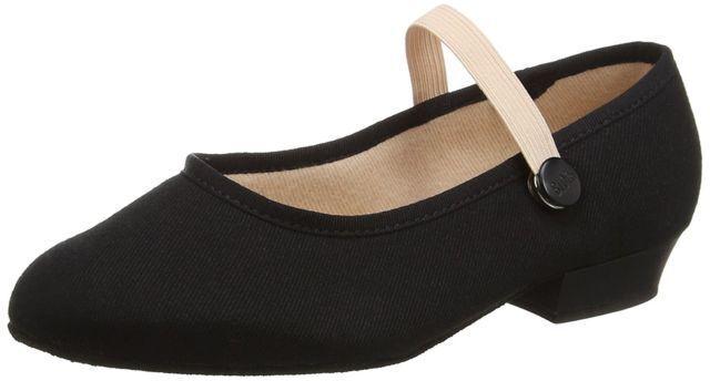 Bloch Accent Canvas Girls' Dance Shoes UK 9.5 CH08 04 SALEx