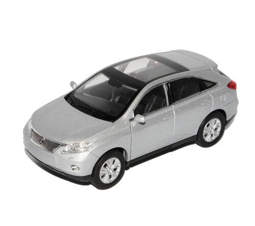 Generation 2009-2015 ca 1//43 1//36-1//46 Welly Modell.. Lexus RX450H SUV Silber 3