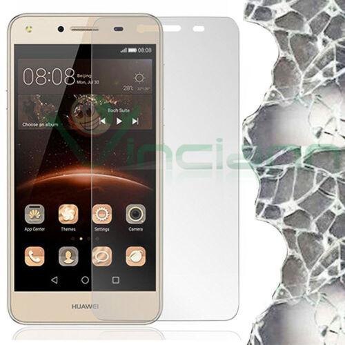 Pellicola VETRO temperato trasparente per Huawei Y5 Pro Y5 II Y6 II Compact