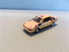 Rietze Germany Audi 200 Quattro White/Yellow 1/87 Scale Plastic