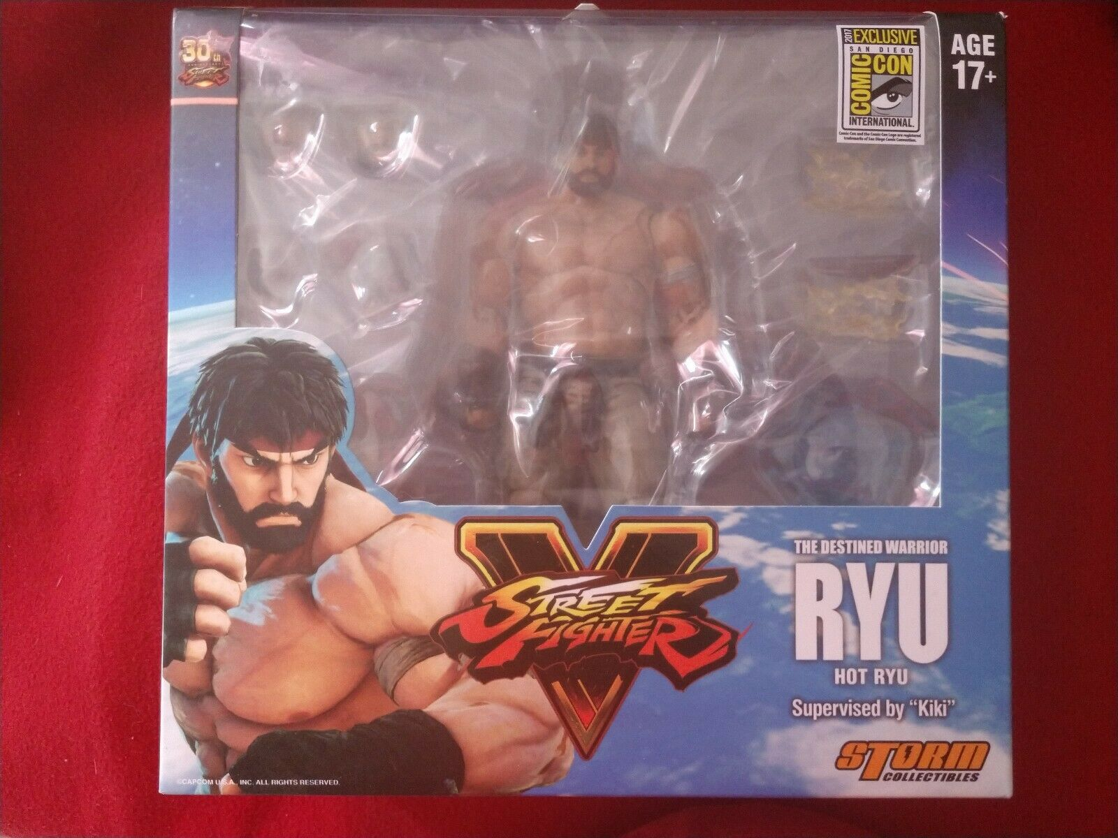 Comic Con Exclusive Hot Ryu - Street Fighter V - 1 12 Figure NEW