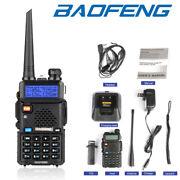 Baofeng UV-5R UHF VHF Dual Band Two Way Ham Radio Walkie Talkie